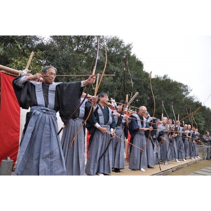 百島八幡神社「お弓神事」