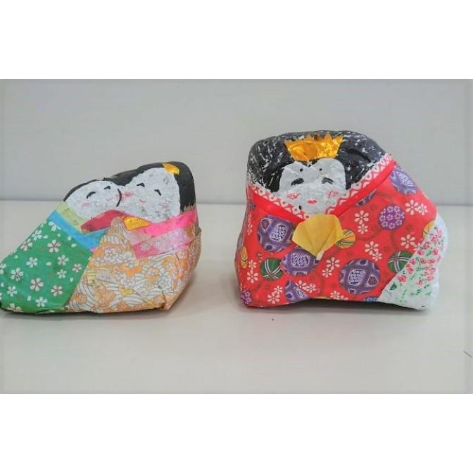 石のひな人形作り【要事前申込】